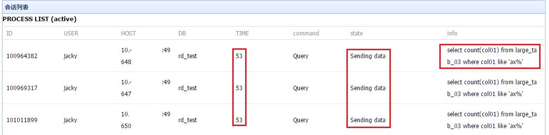 慢 SQL 汇总